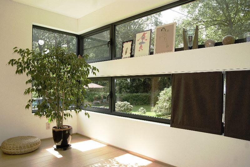 pour la réalisation d'une extension de maison en bois en Belgique
