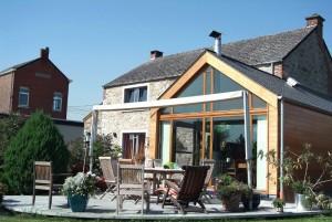 Devis extension maison en bois belgique for Extension maison devis