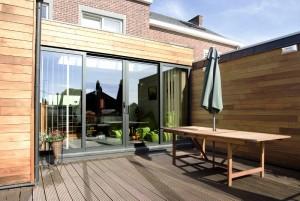 extension maison moderne modulaire bois. Black Bedroom Furniture Sets. Home Design Ideas