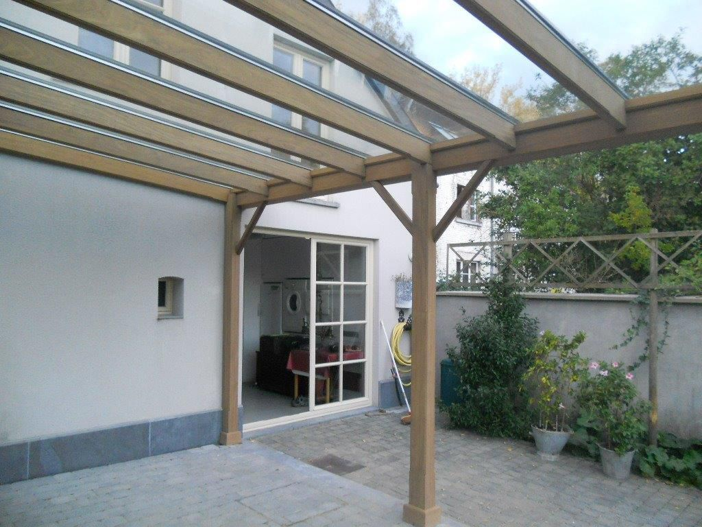 Extension maison garage bois tournai for Veranda sur garage