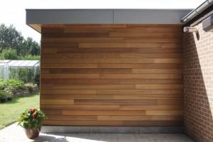 extension maison garage bois