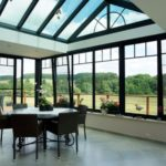 extension maison verre et bois